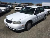 2001 Chevy Malibu Sedan VIN 1G1ND52J61M615524