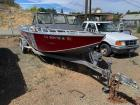1990 Willie 20' Aluminum Day Cruiser Boat With Trailer