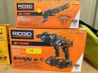 Ridgid Hammer Drill and Impact Driver Combo Kit, Includes Multi-Tool