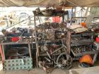 Metal Work Bench's and Racks, Includes Contents