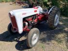 1953 Ford 2 Wheel Drive Tractor, Gas, Manual, Golden Jubilee Model