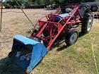 "Early 1940s Ford 8n 2 Wheel Drive Tractor, Gas, Manual, Loader Attachment with 39"" Bucket"