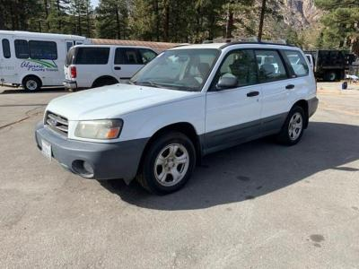 2003 Subaru Forester AWD 4 Door Wagon, 2.5 Liter 4 Cy, Auto Trans, 143304 Mile VIN jf1sg63673h747601