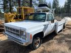 1978 GMC Service Truck With Crane and Air Compressor, V8 Manual, 64347 Miles, Vin # TCS338J524039