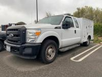 2012 Ford F-350 Pickup Truck, 6.2L V8 Gas Auto, AM/FM, AC, Power Doors, Windows & Mirrors, Animal Control Bed, VIN # 1fd8x3a67ceb08475, NON OP