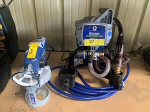 Graco Project Painter Plus True Airless Paint Sprayer with graco True Goat 360 Sprayer