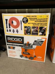 Ridgid 14 Gallon Wet/Dry Vac, model HD1401