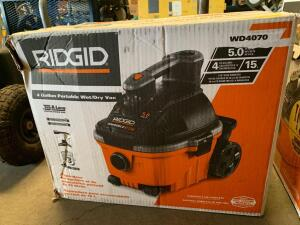 Ridgid 4 Gallon Wet/Dry Vac