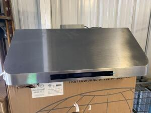 "Cosmo 36"" Range 30"" Hood and Broan 42"" Range Hood, 2pcs"