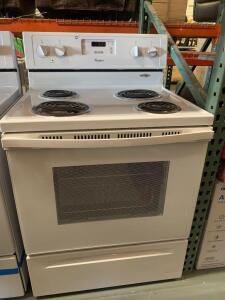 Whirlpool Electric stove 4 Burners