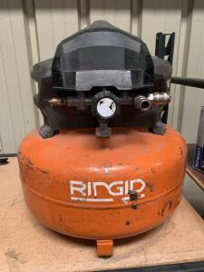 Ridgid 90psi Pancake Air Compressor, NOTE: USED