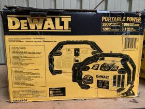 DeWalt Power Station, 2800 Peak Amps