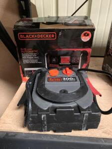 Black and Decker Jump Starter and Battery Charger