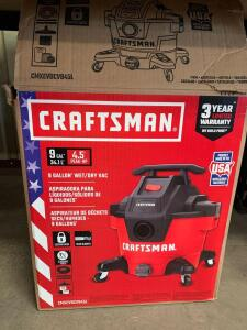 Craftsman 9 Gallon Wet/ Dry Vac
