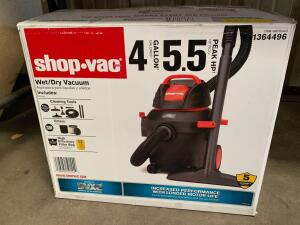 Shop Vac 4 Gallon Wet/Dry Vac