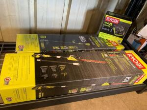 Ryobi Cordless Yard Tools, 3pcs with 18V In Vehicle Charger