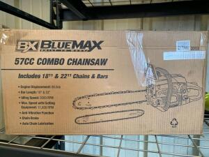 "BX Blue Max 18""/22"" 57CC Combo Chainsaw"
