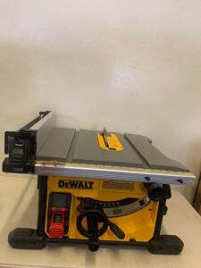 "Dewalt 8 1/4"" (210mm) Table Saw Model DWE7485"