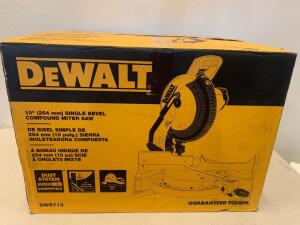 "Dewalt 10"" (254mm) Single Bevel Compound Miter Saw"