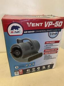 Vent VP-50 Air Mover Comercial Grade Floor fan 3 positions