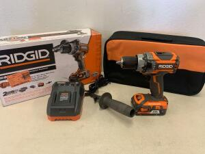 Ridgid 18v Brushless Compact HammerDrill / Drill Driver Kit.