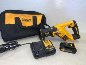 Dewalt 20vMax Brushless XR Variable Speed Reciprocating Saw kit