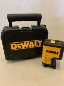 Dewalt laser level 2 points