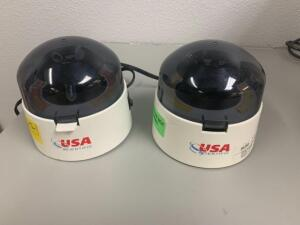 USA Scientific Micro Centerfuges, model SD110VAC, 2pcs