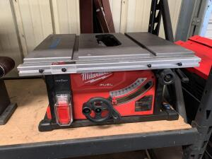 Milwaukee 18V Table Saw, Tool Only