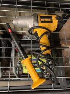 DeWalt 1/2in Electric Impact Gun, with Hand Nailer