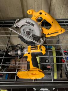 DeWalt Cordless Circular Saw and Drill Driver, Tools Only