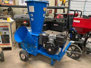 BCS Gas Wood Chipper, 3in Feed, Briggs & Stratton 8HP Engine