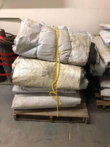 Assorted Concrete Curing Blankets, Contents of Pallet