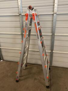Little Giant Velocity 6ft Double Sided Stepladder/13ft Straight Ladder Combo