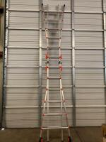 Little Giant Velocity 6ft Double Sided Stepladder/13ft Straight Ladder Combo - 2