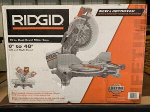 Ridgid 10in Dual Bevel Miter Saw