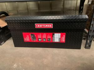 Craftsman 7.1 Cubic Ft Black Truck Chest, 40.09in x 19.57in x 19.20in Tall