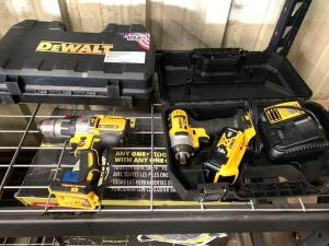DeWalt 20V Impact Driver and Drill Driver Kits, 2pcs