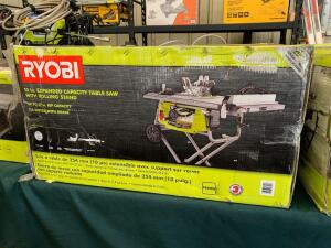 Ryobi 10in Table Saw With Rolling Stand