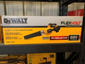 DeWalt 60V Max 3 Ah Axial Handheld Blower, Tool Only