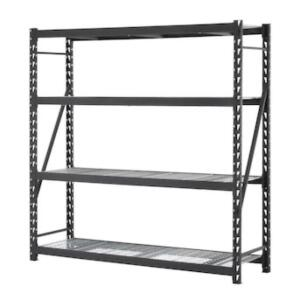 Edsal Premier Industrial Strength Welded Storage Rack, 84in x 24in x 84in, Assembly Required