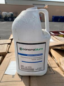 Concrobium Mold Control, (9) Boxes of (4) 1 Gallon Containers