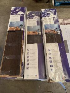 Heritage Mill Wood Flooring, 4 3/4in x 3/8in x Random Lengths, 22 1/2sq ft per Carton, 23 Cartons, 517 1/2sq ft Total