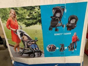 Graco Fastaction Travel System with Sungride 30
