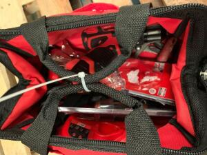 Assorted Milwaukee Hand Tools, Contents of Bag