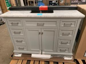 48in Vanity With Top and Back Splash