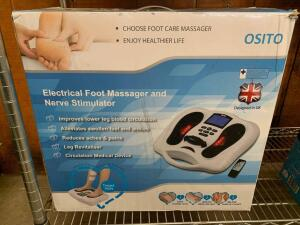 Osito Electrical Foot Massager and Verve Stimulator