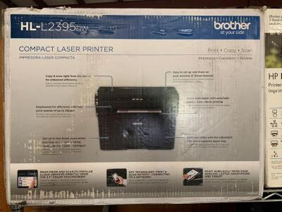 Brother HL-L2395dw Compact Laser Printer