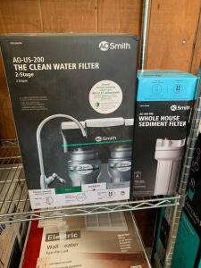 AO Smith 2 Stage Clean Water Filter, model AO-US-200
