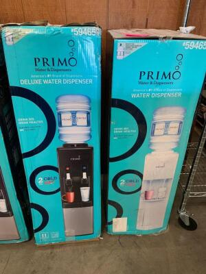 Primo Deluxe Water Dispensers, 2pcs
